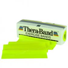 TheraBand® exercise band - 6 yard roll - Yellow - thin