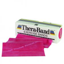 TheraBand® exercise band - 6 yard roll - Red - medium