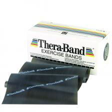 TheraBand® exercise band - 6 yard roll - Black - special heavy