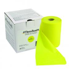 TheraBand® exercise band - 50 yard roll - Yellow - thin