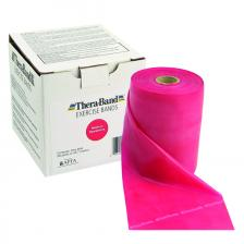 TheraBand® exercise band - 50 yard roll - Red - medium