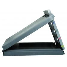 FabStretch® 4-Level Incline Board - Heavy Duty Plastic - 5, 15, 25, 35 Degree Elevation - 14 x 14 Surface