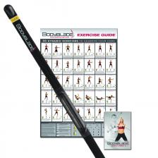 Bodyblade® classic with wall chart and instructional video, black