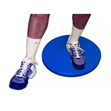 CanDo® home balance board - for Right leg - Blue - 250 lb capacity