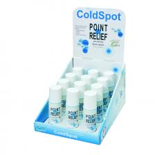 Point Relief® ColdSpot™ - Roll-On Applicator - 3 ounce - 12-piece Dispenser w/ Display Box - Case of 12
