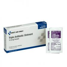 First Aid Only 12-001 Triple Antibiotic Ointment, 12/box