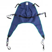 Divided Leg Patient Lift Sling with Headrest