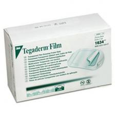 3M 1634 Tegaderm Transparent Film Dressing Frame Style, 2-3/8 x 2-3/4, 400/Case