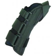 8 soft wrist splint left, large 7-9 with abducted thumb