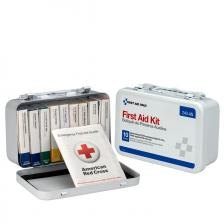 First Aid Only 240-AN 10 Unit First Aid Kit, Metal Case