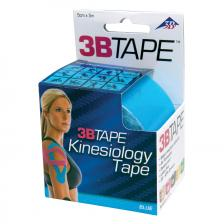 3B Tape, 2 x 16.5 ft, blue, latex-free, case of 10