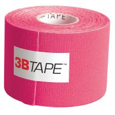 3B Tape, 2 x 16.5 ft, pink, latex-free