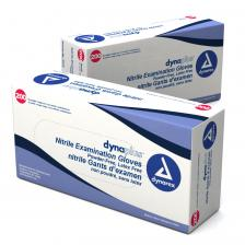Dynarex 2515, Nitrile Exam Glove (non-Latex) Powder Free (economy) - X-Sm, Blue 10/200/Cs