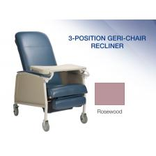 Dynarex 10521, 3-Position Geri Chair Recliner, Rosewood