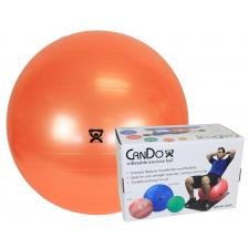 Cando 30-1802B inflatable ball orange 55cm (22in) boxed