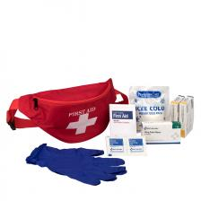 First Aid Only 30500 First Aid Kit Fanny Pack, Fabric Case