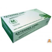 EXTENDED CARE VINYL GLOVE GENERAL PURPOSE MED POWDER FREE 1M/CS