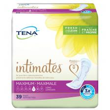 TENA Intimates Maximum Regular Pads, 56 Count, 13