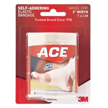 Ace Self-Adhering Bandage 3 x 4-1/5'