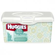 HUGGIES One and Done Refreshing Baby Wipes Tub