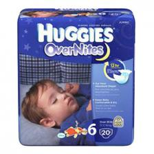HUGGIES Overnite Diapers, Step 6, Jumbo Pack