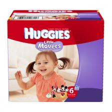HUGGIES Little Movers Diapers, Step 6, Jumbo Pack