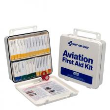 First Aid Only 8030 25 Person Airplane First Aid Kit, High Impact Plastic Case