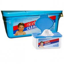 Nice and Clean Baby Wipes Scented 7 x 8