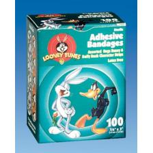 Bugs Bunny & Daffy Duck Bandages by Derma Sciences,Cartoon,No