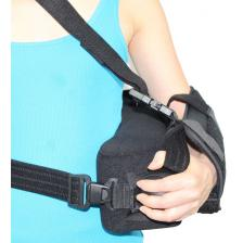 ITA-MED Super Arm Sling with Shoulder Immobilizer: AS-300(i), Small, Black