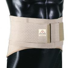 ITA-MED Elastic Duo-Adjustable Back Support Belt (9 Wide): BS-229, Small, Beige