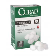 CURAD Sterile Cotton Balls,Medium