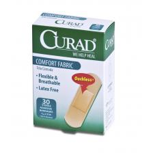 CURAD Comfort Fabric Bandages,Tan,No