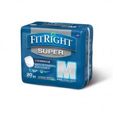 FitRight Super Protective Underwear,Medium