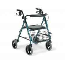 Guardian Deluxe Rollators with 8 Wheels,Blue,8