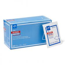 Medline Sterile Alcohol Prep Pads,Large