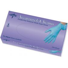 Accutouch Chemo Nitrile Exam Gloves,Blue,Small