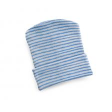 Infant Head Warmers,Blue Stripe
