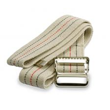 Washable Cotton Material Gait Belts,Beige with Stripes