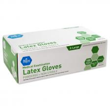 Latex Exam Gloves - XL - N/S - Pwd. 10/100/cs.