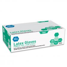 Latex G.P. Glove - Sm - N/S - Powder Free - 10/100/cs.