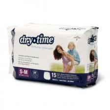 DryTime Disposable Protective Youth Underwear,Small / Medium