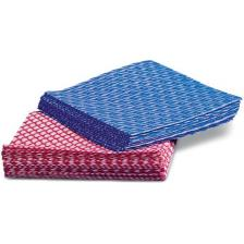 Multi-Purpose Disposable Washcloths,Blue,12 X 13