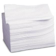 Medline NON260506 Deluxe Dry Disposable Washcloths,White,10X13