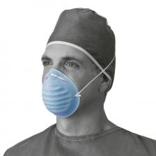 Surgical Cone-Style Face Mask,Blue