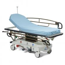 Medline NON3000 Disposable Polypropylene Fitted Stretcher Sheets,Blue