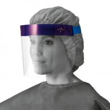 3/4 Length Disposable Face Shields with Foam Top,3/4 Length