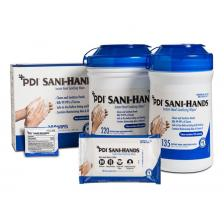 Sani-Hands« ALC Antimicrobial Alcohol Gel Hand Wipes by PDI, Inc