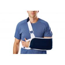 Sling-Style Shoulder Immobilizer with Neck Pad,X-Large