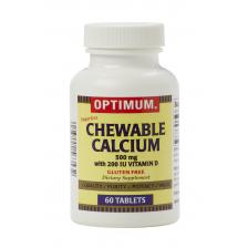 Calcium with Vitamin D Chew Tabs